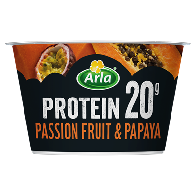 Passionfruit & Papaya Yogurt